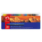 Caran-DAche-Neocolor-I-Water-Resistant-Wax-Oil-Pastels-30-set