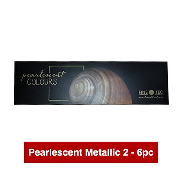 Finetec-Watercolour-Paint-Colour-Pearlescent-Metallic-2-Box-Set