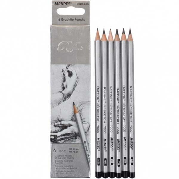 Graphite-Pencil-Set-of-6-Raffine