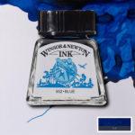 Ink-14ml-Blue-Winsor-&-Newton