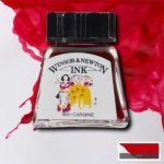 Ink-14ml-Carmine-Winsor-&-Newton