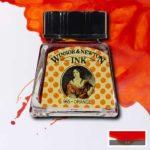 Ink-14ml-OrangeWinsor-&-Newton