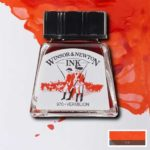 Ink-14ml-Verimilion-Winsor-&-Newton