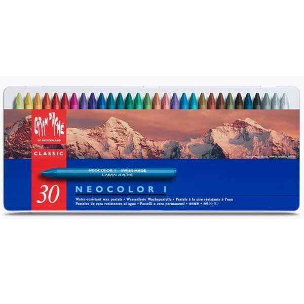 Neocolor-I-Oil-Pastels-Set-of-30