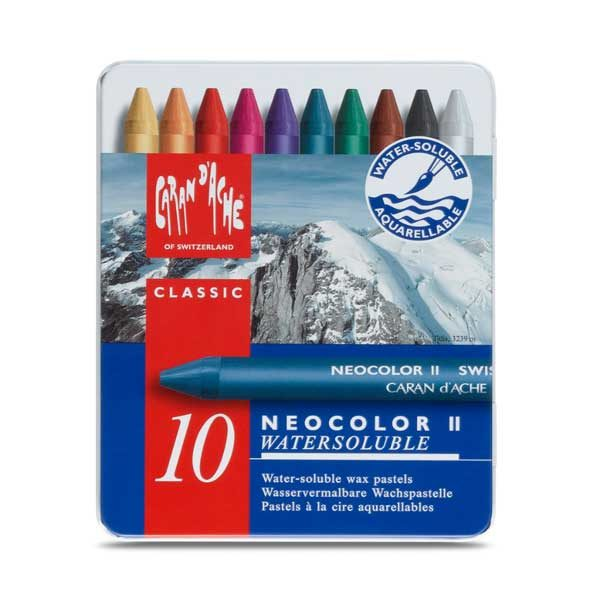Neocolor-II-Set-of-10-Front-CarandAche