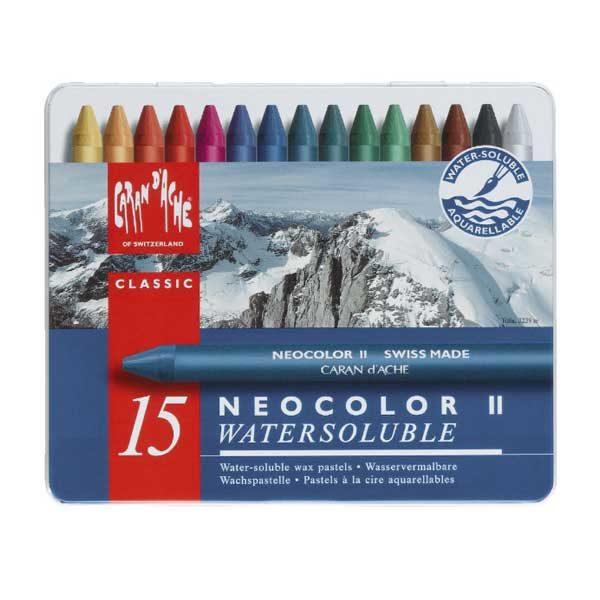 Neocolor-II-Set-of-15-Front-CarandAche