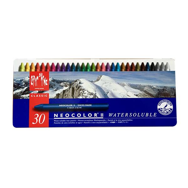 Neocolor II Watersoluble Wax Oil Pastels - Caran d'Ache ...