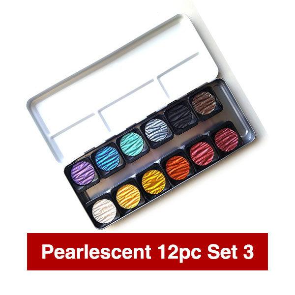 Pearlescnet-Watercolour-Set-of-12-Open