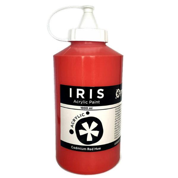 Prime-Art-Iris-Primary-Red-Acrylic-Paint-1000ml