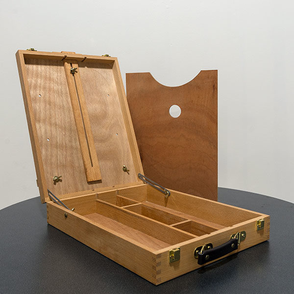 Table-Easel-With-Art-Box--Open