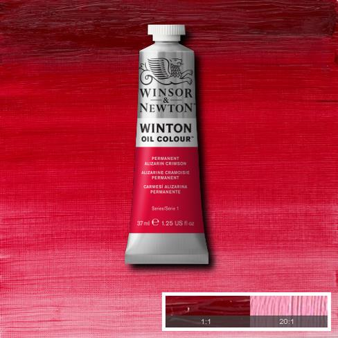 Winsor-&-Newton-37ml-Winton-Oil-Colour-Alizarin-Crimson