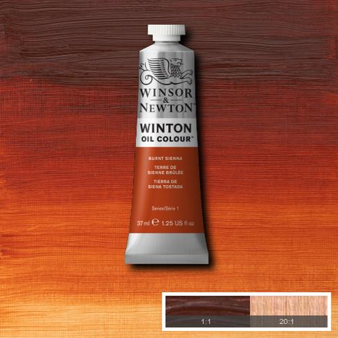 Winsor-&-Newton-37ml-Winton-Oil-Colour-Burnt-Sienna