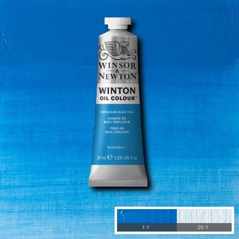 Winsor-&-Newton-37ml-Winton-Oil-Colour-Cerulean-Blue