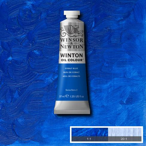 Winsor-&-Newton-37ml-Winton-Oil-Colour-Cobalt-Blue