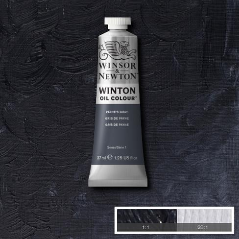 Winsor-&-Newton-37ml-Winton-Oil-Colour-PAYNES-GRAY
