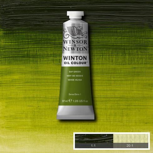 Winsor-&-Newton-37ml-Winton-Oil-Colour-Sap-Green