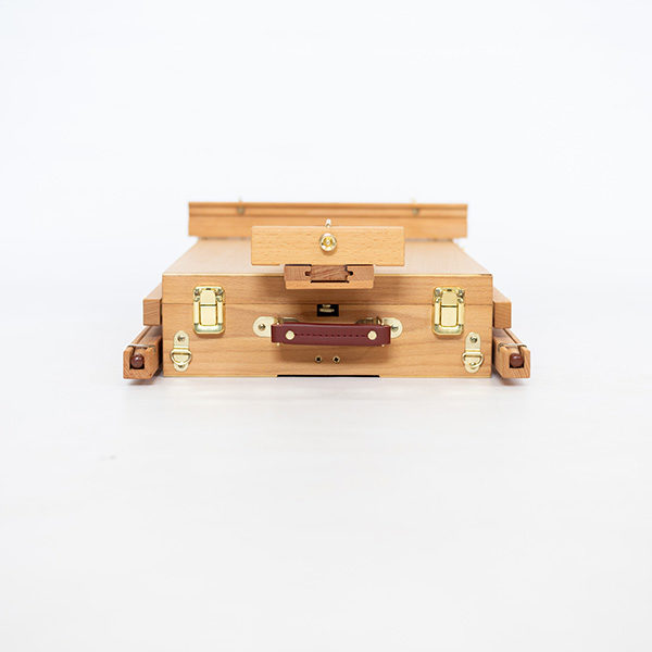 Wooden-French-Box-Style-Easel-Folded-Closed-Side-View