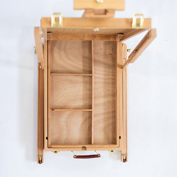 Wooden-French-Box-Style-Easel-Top-Tray-view-folded-open