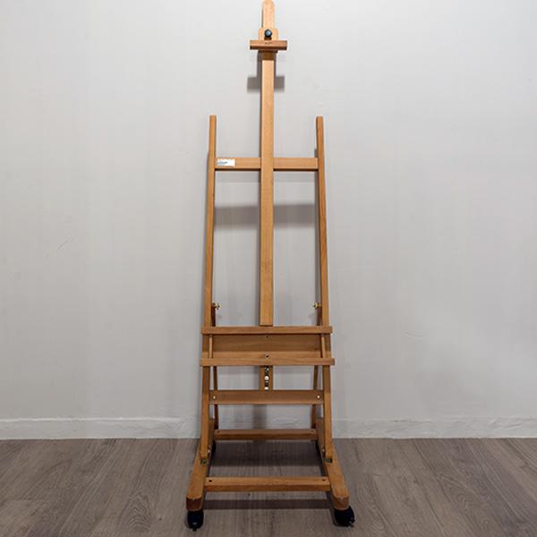 Wooden H-Frame Beach Wood Studio Easel - The Art Savings Club.co.za