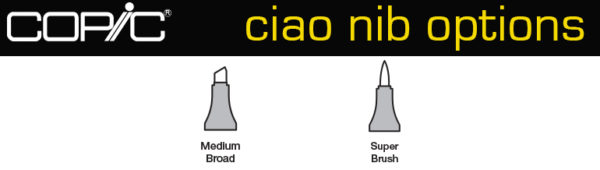 Copic-ciao-nib-options