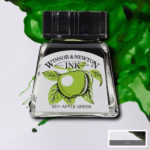 Drawing-Ink-14ml-Apple-Green-Winsor-&-Newton
