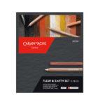 Flesh-&-Earth-Pastel-Pencil-Set-CarandAche