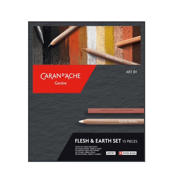 Flesh-&-Earth-Pastel-Pencil-Set-CarandAche