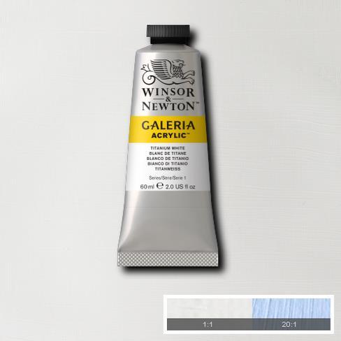 GALERIA ACRYLIC TITANIUM WHITE