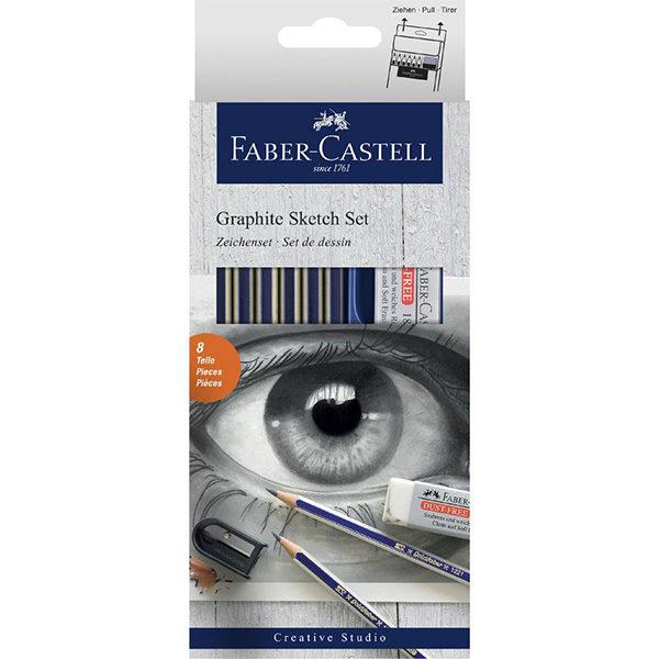 Graphite-Sketching-Set-Faber-Castell