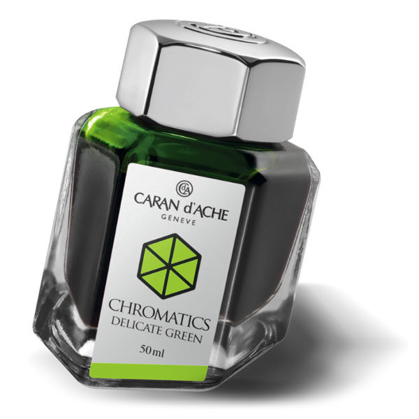 Ink-Bottle-50ml-Delicate-Green-Caran-dAche