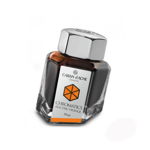 Ink-Bottle-50ml-Electric-Orange-Caran-dAche