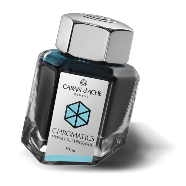 Ink-Bottle-50ml-Hypnotic-Turquoise-Caran-dAche