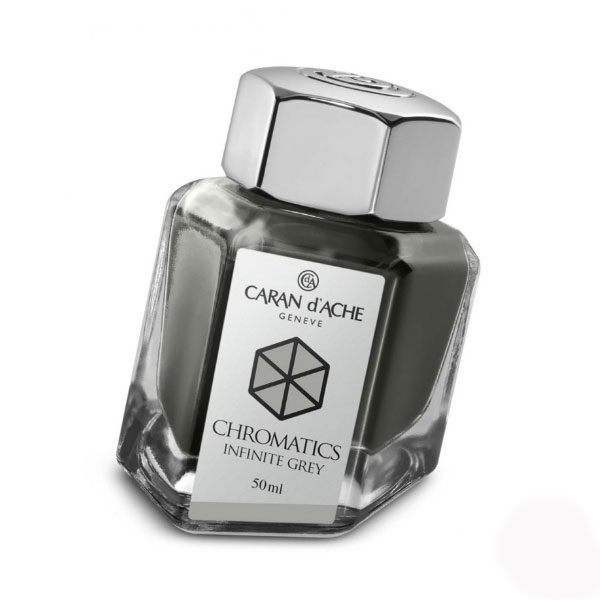 Ink-Bottle-50ml-Infinite-Grey-Caran-dAche