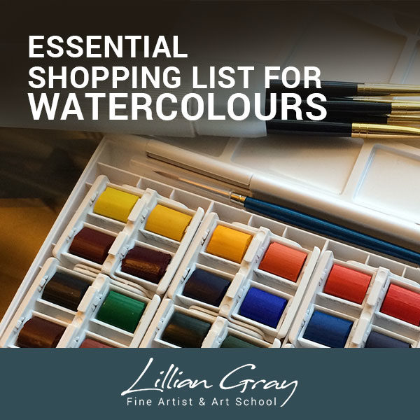 lillian gray essentials for watercolour painting bundle array