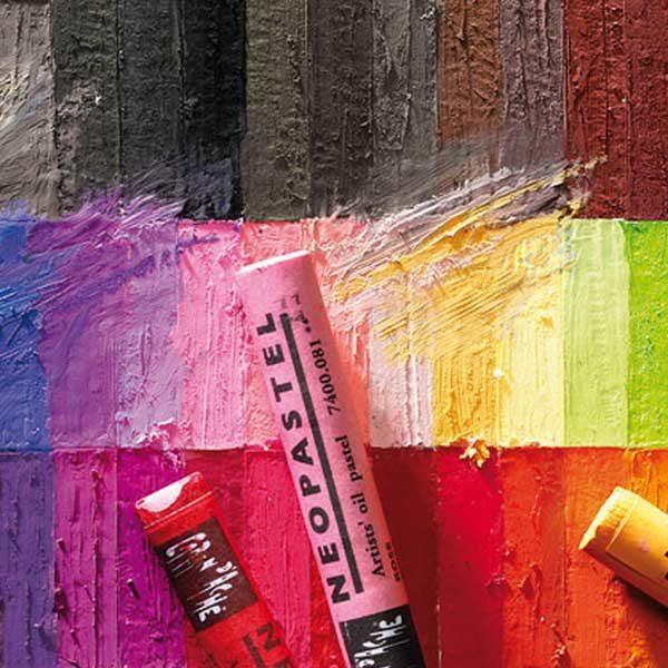 Neopastel-Single-Oil-Pastels-Caran-dAche-colours