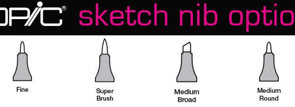 copic-sketch-nib-options