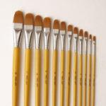 313DF-Filbert-Brushes