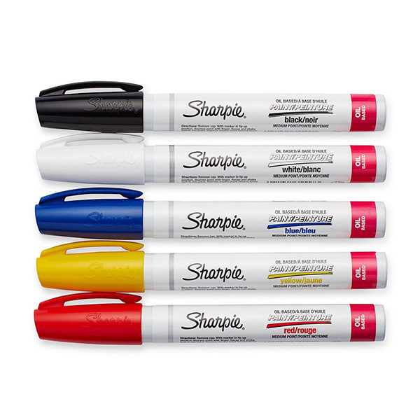 Oil-Based-Medium-Paint-Marker-Set-Of-5-Sharpie