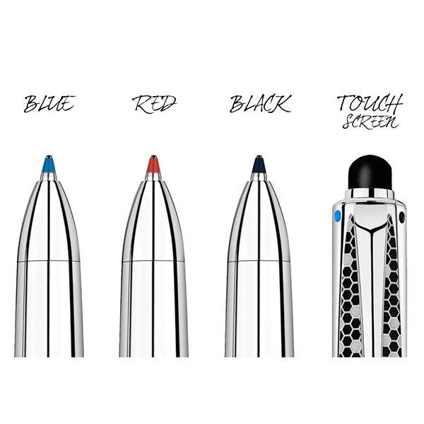 RNX-316-Multi-Function-Ballpoint-Pen-Caran-dAche-colours