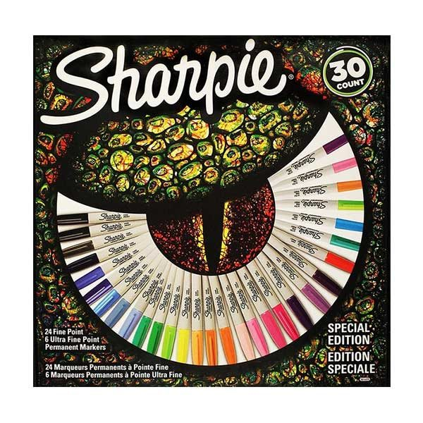 Sharpie-Special-Edition-Assorted-Permanent-Markers-30-Count-Box-Front