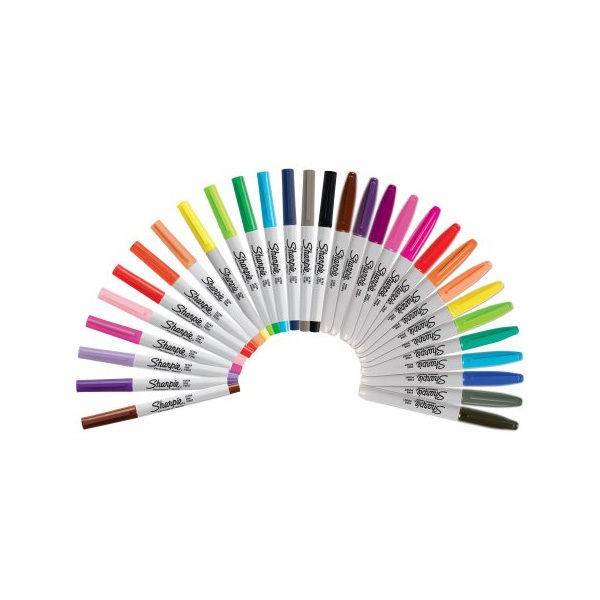 Sharpie-Special-Edition-Assorted-Permanent-Markers-30-Count-Box-Markers