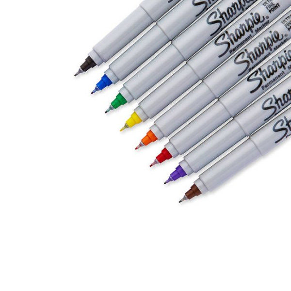Sharpie-Special-Edition-Assorted-Permanent-Markers-30-Count-Box-Ultra-Fine-Markers-Nibs