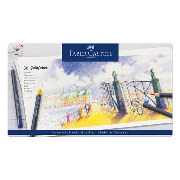 Goldfaber-Colour-Pencil-36-Tin-Sets-Faber-Castell