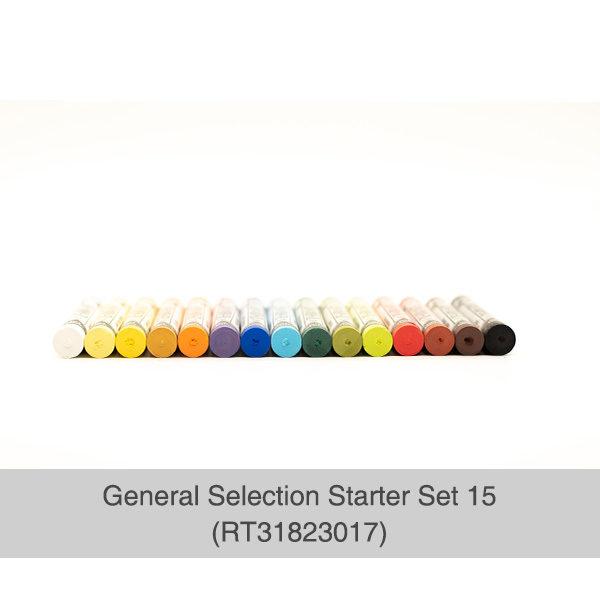 Rembrandt-Soft-Pastels-General-Selection-15-Set-Pastels-laid-out