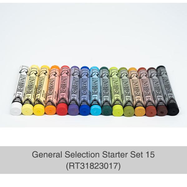 Rembrandt-Soft-Pastels-General-Selection-15-Set-Pastels-laid-out-flat