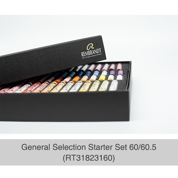 Rembrandt-Soft-Pastels-General-Selection-Starter-Set-60&60,5-Box-Corner-Open