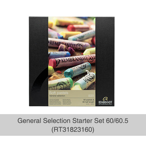 Rembrandt-Soft-Pastels-General-Selection-Starter-Set-60&60,5-Box-Front