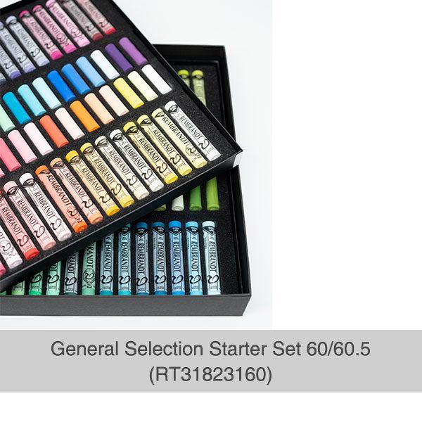 Rembrandt-Soft-Pastels-General-Selection-Starter-Set-60&60,5-Box-Opened