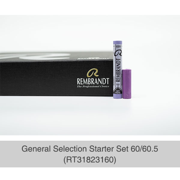 Rembrandt-Soft-Pastels-General-Selection-Starter-Set-60&60,5-Box-&-Sample-Pastel