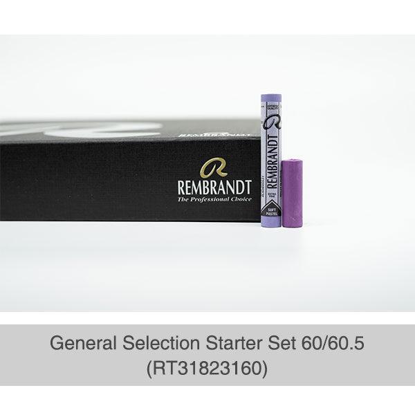 Rembrandt-Soft-Pastels-General-Selection-Starter-Set-60&60,5-Box-&-Sample-Pastel